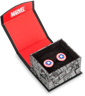 Disney Captain America Shield Cufflinks