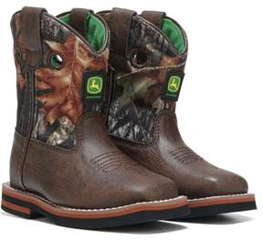 John Deere Kids' Every Day Square Toe Cowboy Boot Toddler