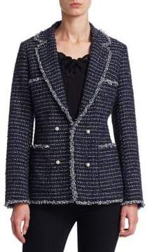 Edward Achour Embellished Tweed Jacket