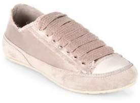 Pedro Garcia Parson Tonal Satin Low Top Sneakers