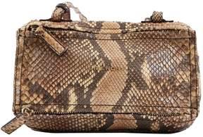 Givenchy Pandora Box python crossbody bag