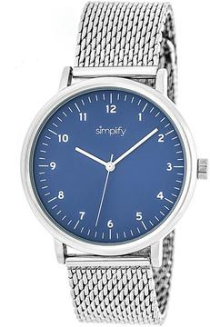 Simplify The 3200 Collection SIM3203 Unisex Watch with Mesh Bracelet-Style Band