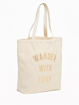 Printed Canvas Tote for Women