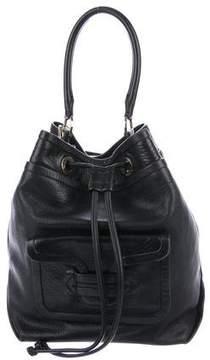 Pierre Hardy Leather Bucket Bag