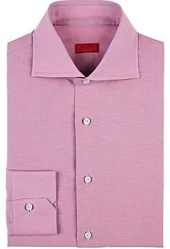 Isaia Men's Cotton-Linen Shirt