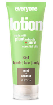 EO Mint + Coconut Everyone 3-in-1 Lotion Tube by 6oz Lotion)