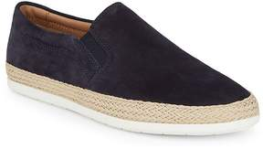 Vince Men's Suede Espadrille Slip-On Sneakers