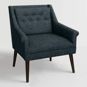 World Market Linen Blend Naveen Upholstered Chair