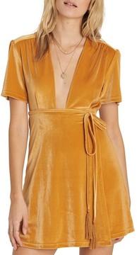 Billabong Women's Lush For Life Velvet Dress