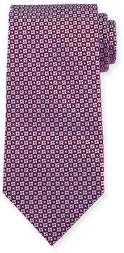 Charvet Square & Circle Silk Tie