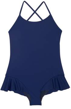 Milly MINIS RUFFLE CROSS BACK ONE PIECE