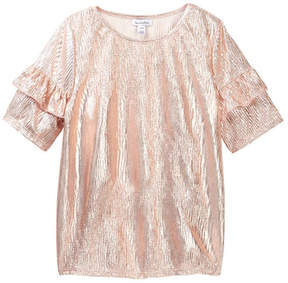 Love, Fire Bodre Ruffle Top (Big Girls)