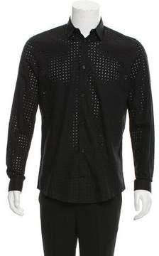 Balenciaga Cutout Woven Shirt