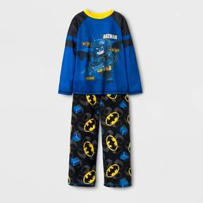 Lego The Batman Movie Boys' Spacedye Pajama Set - Blue