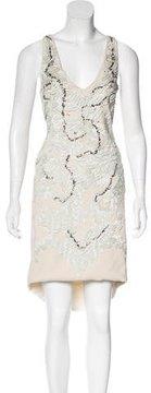 Amen Embellished Knee-Length Dress