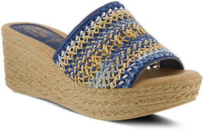 Spring Step Women's Calci Wedge Sandal