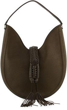 Altuzarra Ghianda Large Woven Leather Shoulder Bag