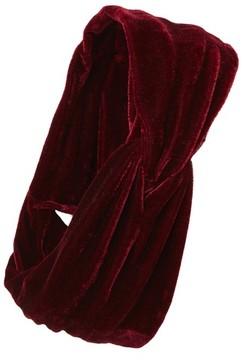 Sole Society Women's Velvet Head Wrap - Red