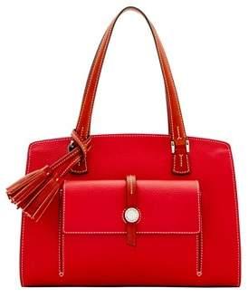 Dooney & Bourke Cambridge Shoulder Bag. - RED - STYLE