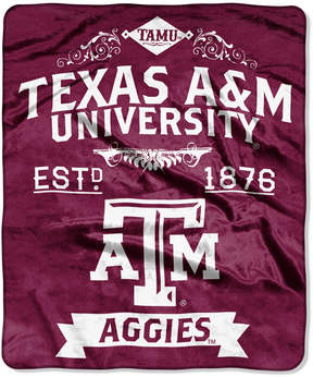 Northwest Company Texas A & M Aggies Raschel Rebel Throw Blanket
