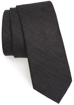 1901 Men's Bartlett Solid Cotton Tie