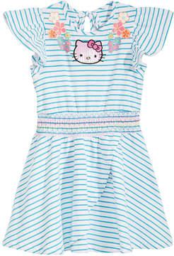 Hello Kitty Little Girls Striped Dress