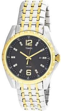 Timex Men's Style Elevated T2P271 Silver Stainless-Steel Quartz Fashion Watch