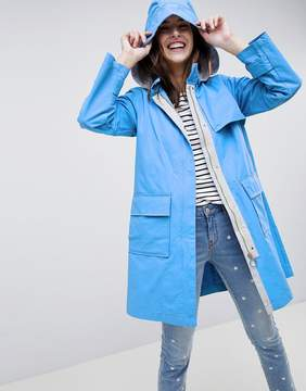 Esprit Hooded Trench Jacket