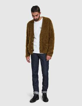 Maison Margiela 5 Gauge Half Cardigan Brushed Rib