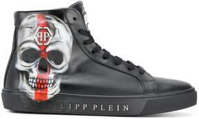 Philipp Plein skull hi tops