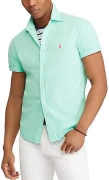 Polo Ralph Lauren Twill Slim Fit Button-Down Shirt