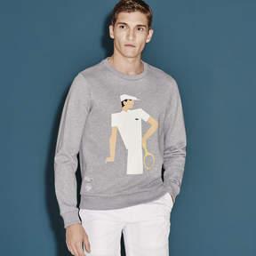 Lacoste Men's Sport French Open Player Sweatshirt