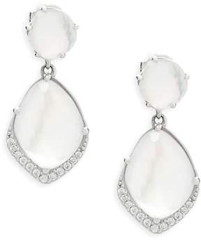 Adriana Orsini Women's Crystal Double Drop Earrings