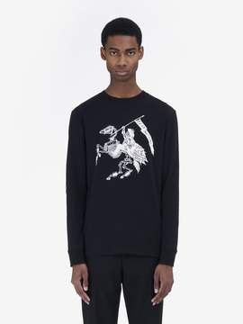 McQ Fear Nothing Long Sleeve T-Shirt