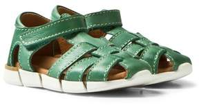 Bisgaard Green Sandals