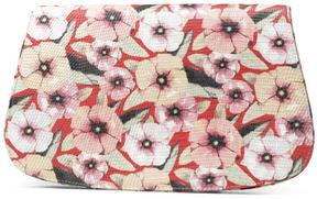 Women's FREIA - Floral Lizard Calf Leather Crossbody Bag