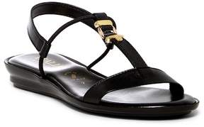 Italian Shoemakers T-Strap Slingback Sandal