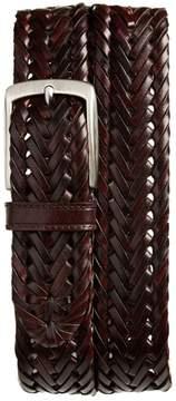 Trafalgar Men's Enzo Braided Leather Belt