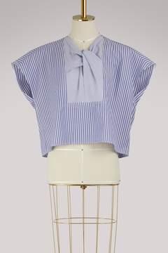 Carven Striped cotton top