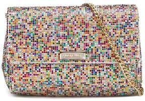 Simonetta crystal-embellished shoulder bag