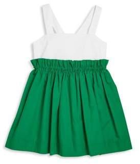 Milly Minis Girl's Jenny Poplin Dress