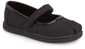 Toms Tiny Glimmer Mary Jane Flat (Baby, Toddler, & Little Kid)