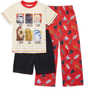 Star Wars LICENSED PROPERTIES 3-pc. Lego Pajama Set Boys
