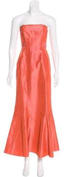 Laundry by Shelli Segal Silk Evening Dress