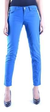 Fiorucci Women's Blue Cotton Jeans.