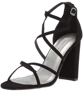 Touch Ups Women's Peyton Heeled Sandal, Black, Size 8.0.