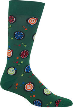 Hot Sox Men's Dart Board Socks