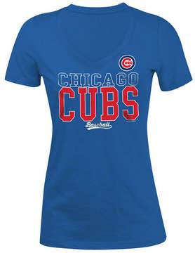 5th & Ocean Women's Chicago Cubs Lineup T-Shirt