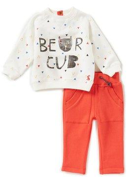 Joules Baby Boys Newborn-24 Months Bear Cub Printed Sweater & Pants Set