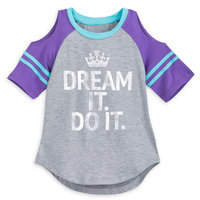 Disney Princess ''Dream It. Do It.'' Cold-Shoulder Top For Girls by Our Universe
